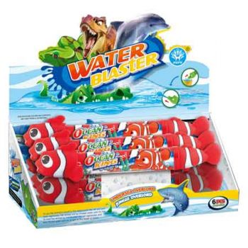 Water Shooter 50cm - Clown Fish ( ONLY SOLD in display of 6) ( was RRP $19.99 )