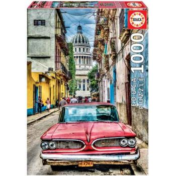 Educa 1000pce Puzzle - Vintge Car in Old Havana