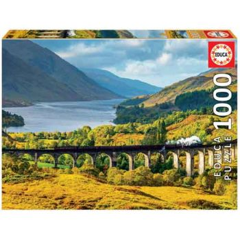 Educa 1000pce Puzzle - Glenfinnian Viaduct Scotland