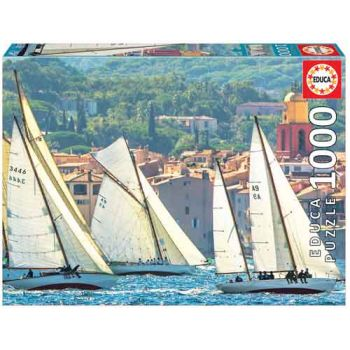 Educa 1000pce Puzzle - Sailing At Saint-Tropez