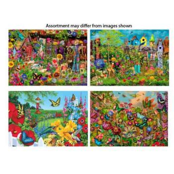 1000pce Radiant Puzzle assorted