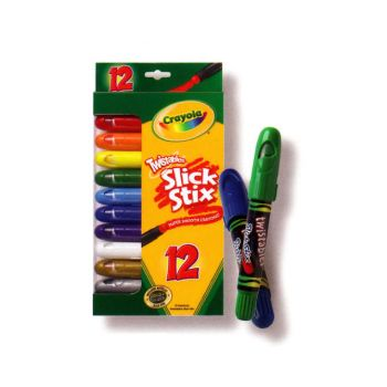 Crayola Twistables Slick Stix 12Pk