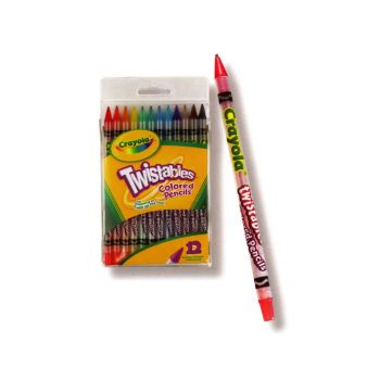 Crayola 12pk Twistables Coloured Pencils