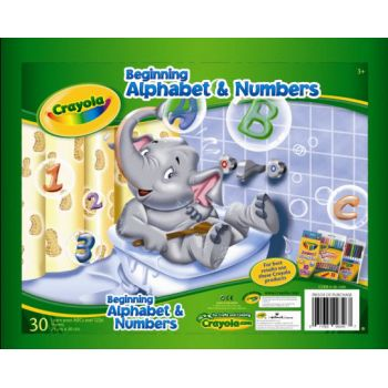 Crayola Beginning Alphabet & Numbers Pad