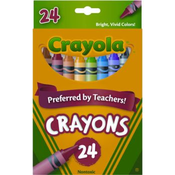 Crayola 24 Regular Crayons