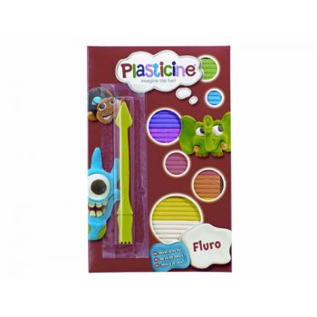 Plasticine Fluro (Can be sold as a display of 10)