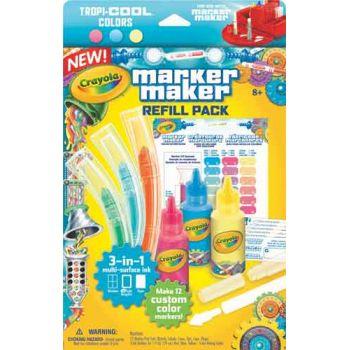 Crayola Marker Maker Refill - Tropi-Cool Pastel Colors