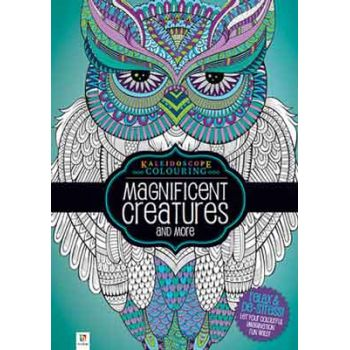 Adult Colouring Book - Maginificent Creatures