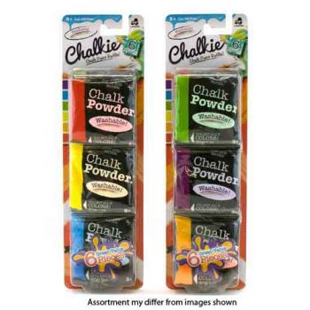 Chalkie Chalk Powder refill pack assorted ( was RRP $9.99 )