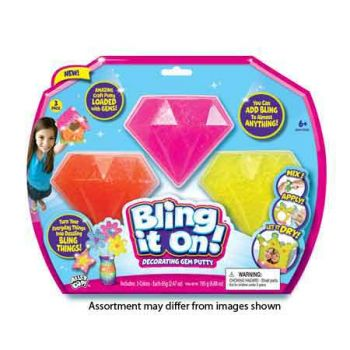 Bling It On - 3pk Assorted ( was RRP $34.99 )