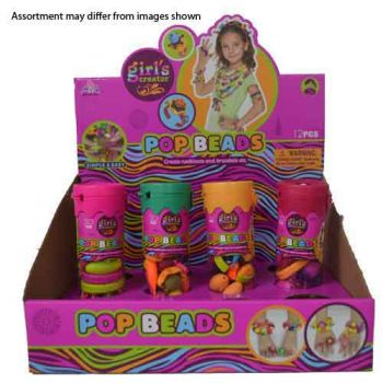 Pop Beads in Tubes assorted ( ONLY SOLD in display 12 )