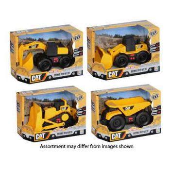 """CAT 5"""" Mini Movers Lights & Sounds Trucks assorted"""
