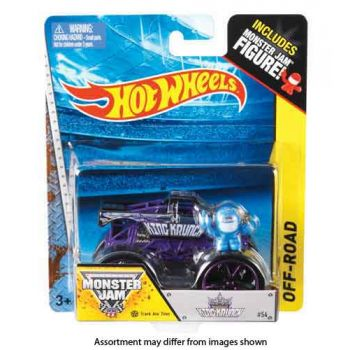Hot Wheels Monster Jam 1:64 International Assorted