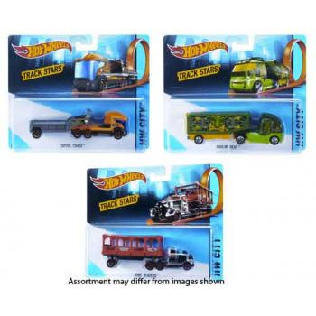 Hot Wheels Trackin Trucks Assorted