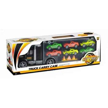 Truck Carry Case with 6 Cars