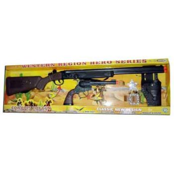 Battery Operated Cowboy Rifle Set