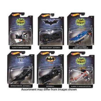 Hot Wheels 1:50 Batman Premium assorted