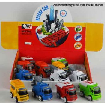 Diecast Friction Vehicles assorted ( ONLY SOLD in display of 12)