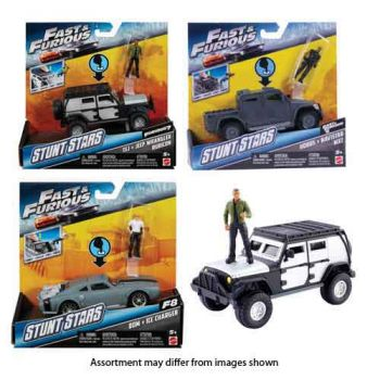 Hot Wheels Fast & Furious Basic 1:32 Stunt Stars Assorted