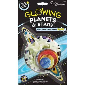 Glow in the Dark - Planets & Stars