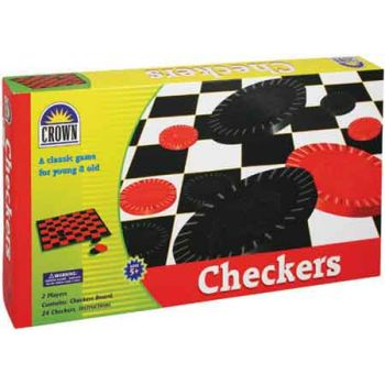 Crown Checkers Set
