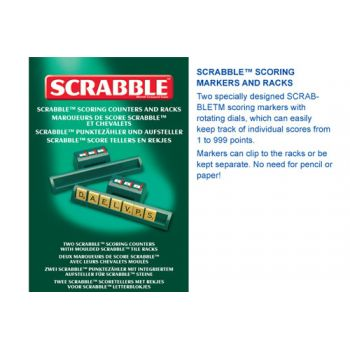 Scrabble Scoring Racks & Markers