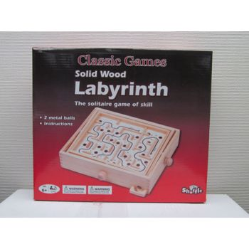 Shuffle Classic Wooden Labyrinth ( was RRP $34.99 )