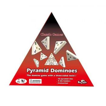 Shuffle Classic Pyramid Dominoes ( was RRP $29.99 )