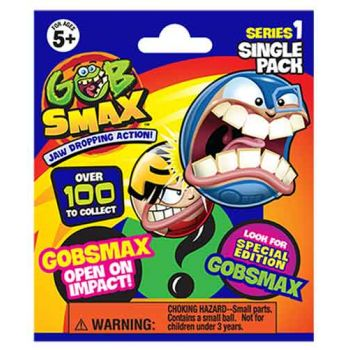 GOBSMAX Singles ( ONLY SOLD  in display of 24 ) ( was RRP $9.99 )