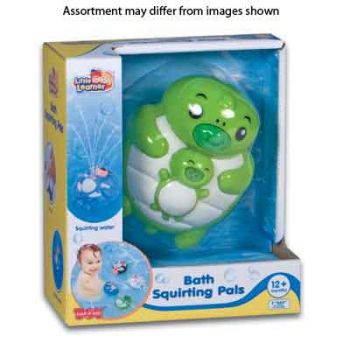 Little Learner Bath Squirting Pals assorted ( was RRP $19.99 )