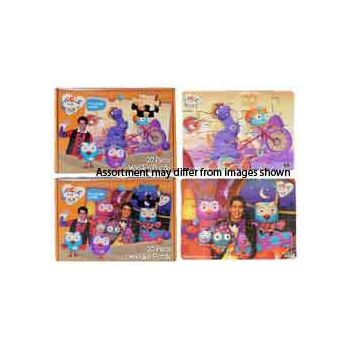 Giggle & Hoot 20pce Wooden Boxed Puzzle assorted