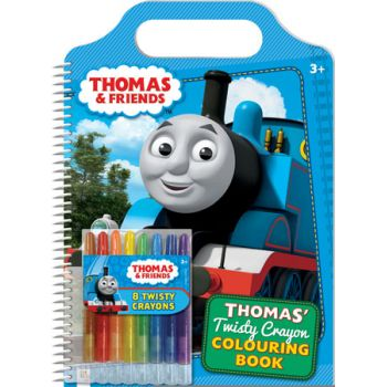 Thomas & Friends Twisty Crayon Colouring Book