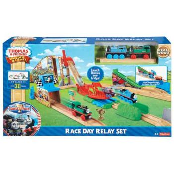 Thomas & Friends Wooden Railway Race Day Relay Playset