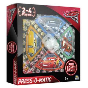 Disney Cars 3 Press-O-Matic