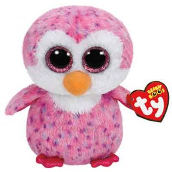 Ty Beanie Boos Regular - Glider the Pink Penguin