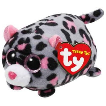 Teeny Tys - Miles the Grey/Pink Leopard