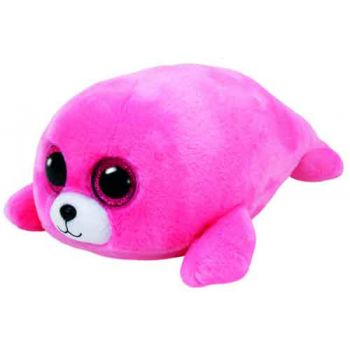 Ty Beanie Boos Medium - Pierre the Pink Seal