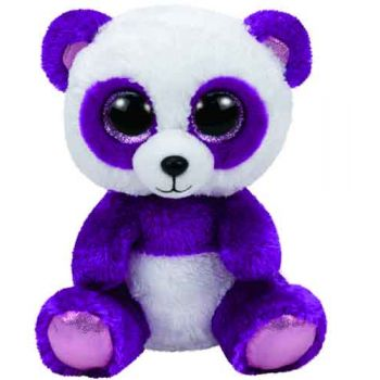 Ty Beanie Boos Regular - Boom Boom purple panda