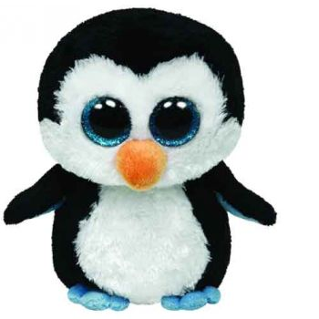 Ty Beanie Boos Medium - Waddles Penguin