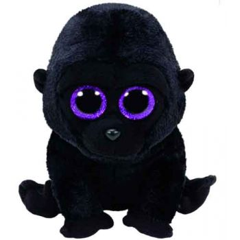 Ty Beanie Boos Regular - George Black Gorilla
