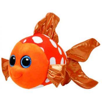 Ty Beanie Boos Medium -  Sami Orange Fish