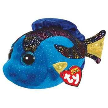 Ty Beanie Boos Regular - Aqua Blue Fish