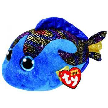 Ty Beanie Boos Medium - Aqua Blue Fish