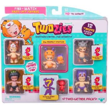 Twozies Series 1 Two-Gether Pack ( was RRP $19.99 )