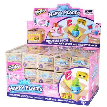 Happy Places Shopkins Series 1 3pk ( ONLY SOLD as a display of 30 )