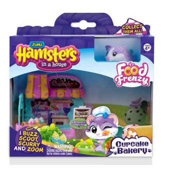 Zuru Hamsters in a House SERIES 2 Little Cupcake Bakery ( was RRP $19.99 )
