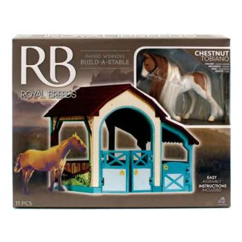 Royal Breeds Build-a-Stable ( was RRP $19.99 )