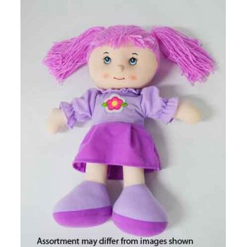 """18"""" Rag Doll assorted ( was RRP $19.99 )"""