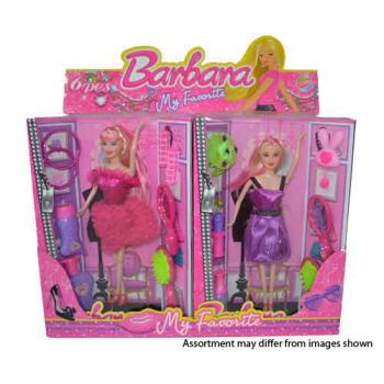 Doll & Accessories assorted ( ONLY SOLD in display of 6 ) ( was RRP $14.99 )