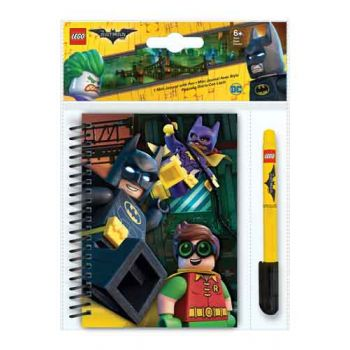LEGO Batman Movie Mini Journal with Gel Pen